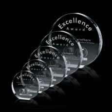Custom-Engraved Crystal Awards - Glenwood Award