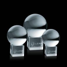 Crystal Globe Awards - Crystal Ball on Cube