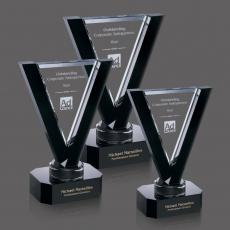 Custom-Engraved Crystal Awards - Vermouth Award