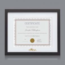 Certificate Frames - Aberdeen Cert Frame