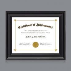 Certificate Frames - Stellarton Cert Frame