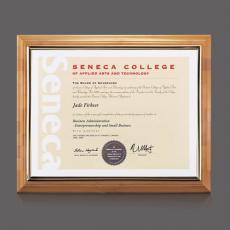 Certificate Frames - Bamboo Certificate Holder