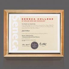 Certificate Frames - Erindale Certificate Holder