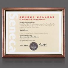 Certificate Frames - Sedgewick Cert Holder
