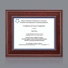 Certificate Frames - Calthrop Certificate Holder
