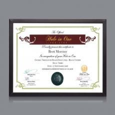 Certificate Frames - Metropolitan Cert Frame