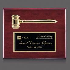 Traditional Plaques - Gavel Plaque