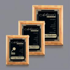 Custom Engraved Wall Plaques - Bamboo/Cardinal Plaque