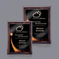 Custom Engraved Plaques - Farnsworth/Benton Plaque