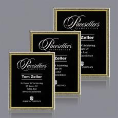 Custom Corporate Acrylic Awards - Signet Plaque