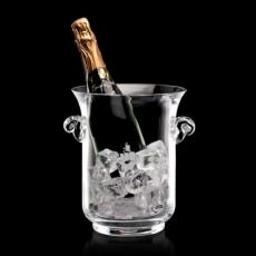 "Personalized Corporate Gifts - Lyndhurst Champagne Bucket -10"" Crystalline"