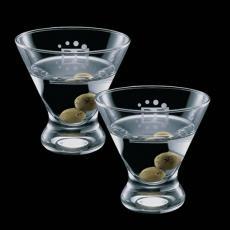 Barware - Brisbane Stemless Martini (Set of 2)