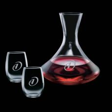 Wine Glasses - Senderwood Carafe & 2 Stanford Wine