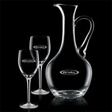 Wine Glasses - Deane Carafe  & Choice of Wine Glasses