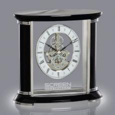 Clock Awards - Nunzia Clock - Black/Silver
