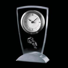 Retirement Awards - Picadilly Clock - Aluminum Base