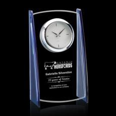 Clock Awards - Billingham Clock - Starfire/Blue