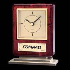 Clock Awards - Falkland Clock - Rosewood/Gold