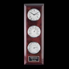 Clock Awards - Simmons Clock/Therm/Hygro - Chrome