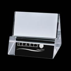 "Desk Accessories - Edinborough Cardholder - Optical 4""x2"""