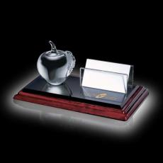 Desk Accessories - Business Card Holder - Apple on Albion