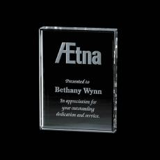 Personalized Corporate Gifts - Verona Paperweight - Starfire