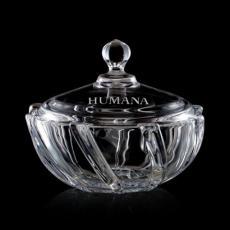 Bowls - Oshawa Candy Bowl & Lid - Crystalline
