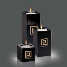 Candle Holders - Perth Candleholders - Black (Set of 3)