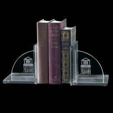 Desk Accessories - Amberwood Bookends - Jade (Set of 2)