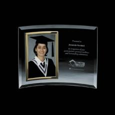 Personalized Corporate Gifts - Welland Frame - Vertical/Gold