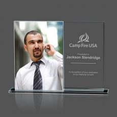 Personalized Corporate Gifts - Sparta Frame - Starfire Vertical