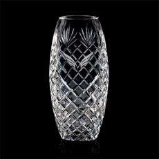 Custom-Engraved Crystal Awards - Sanders Vase - Lead Crystal