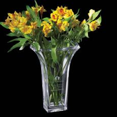 Custom-Engraved Crystal Awards - Moreno Vase -