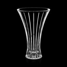 Custom-Engraved Crystal Awards - Bacchus Vase - Crystalline