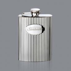 Executive Gifts - Payne Hip Flask - Stainless Steel