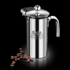 Executive Gifts - French Coffee Press - 18/8 Stainless Steel