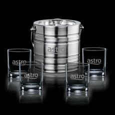 Executive Gifts - Milano Ice Bucket & Glasses