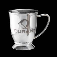 Barware - Ryerson Footed Mug - Stainless Steel