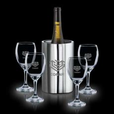 Barware - Jacobs Wine Cooler & 4 Carberry Wine