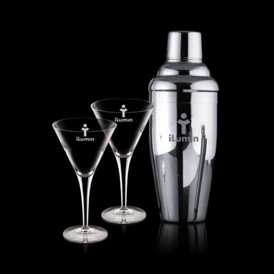 Connoisseur Shaker & 2 Belfast Martini