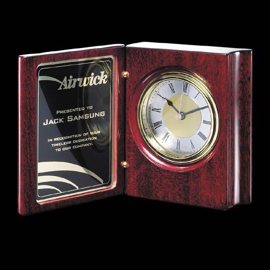 Academy Clock - Rosewood