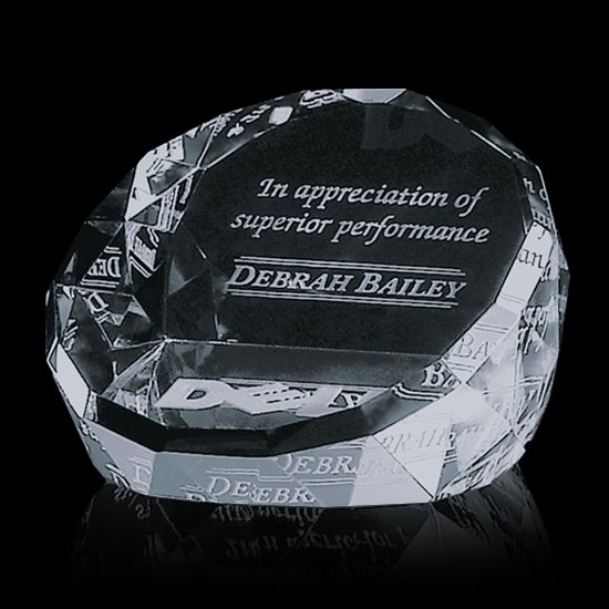 Chiltern Paperweight - Optical 3