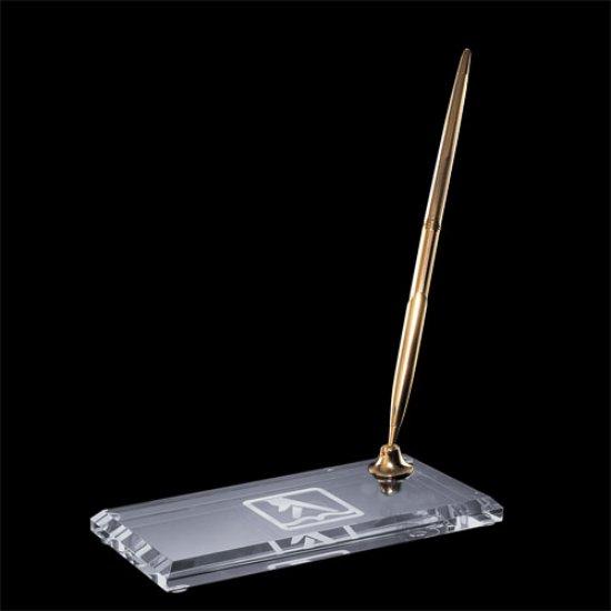 Ashburton Double Pen Set - Gold