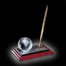 Desk Accessories - Globe on Albion Pen Set