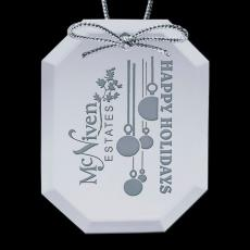 Personalized Corporate Gifts - Mirror Ornament - Octagon