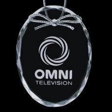 """Personalized Corporate Gifts - Optical Ornament - Oval 3"""""""