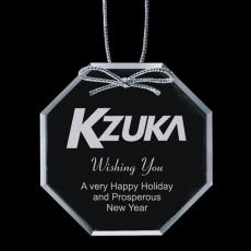 """Personalized Corporate Gifts - Starfire Ornament - Octagon 3"""""""