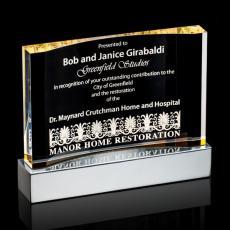 Acrylic Awards Plaques - Cornerstone Award