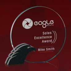 Custom Corporate Acrylic Awards - Clement Eagle