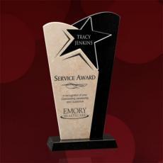 Custom Corporate Acrylic Awards - Lewes Award